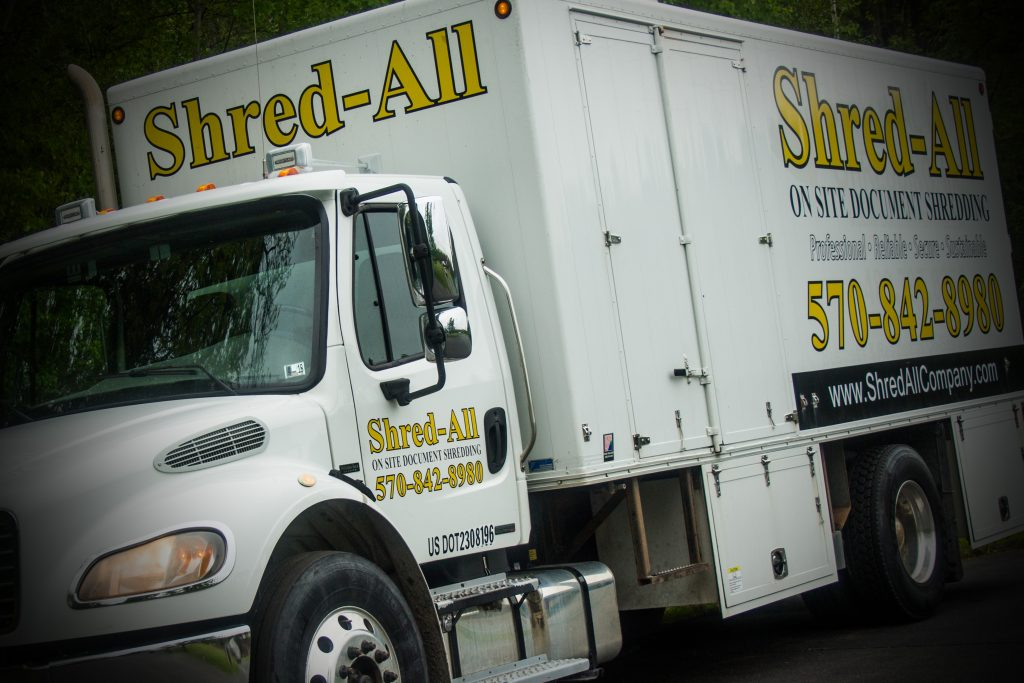 shred all truck scranton pa
