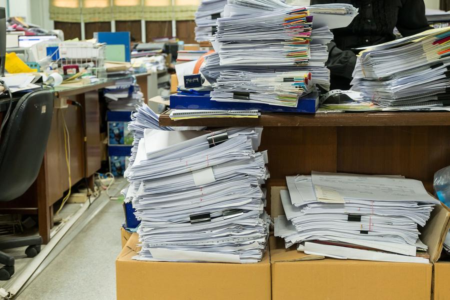 onsite office document shredding