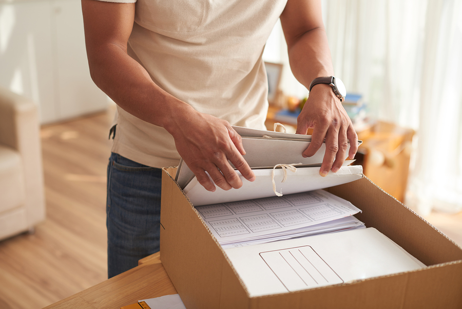 shred personal documents at home