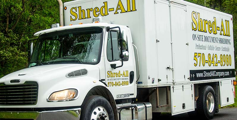 Shred All truck
