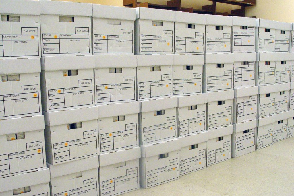 document storage company